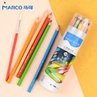 马可水溶性彩铅绘画美术48色专业手绘彩色铅笔36色 马克画笔套装