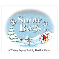 Snow Bugs: A Wintery Pop-Up B 寒冬里的飞虫 英文儿童立体书