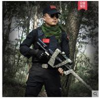 户外军迷野战特套装男战狼军装作战服训服特种兵迷彩服作训服