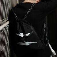 抽绳双肩包女户外旅行背包轻便拉绳包休闲运动束口袋