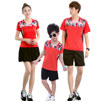 羽毛球服套装运动比赛训练服女款网球衣服速干童装