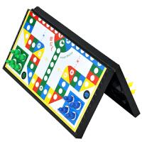 儿童磁性飞行棋大小号折合折叠式棋盘益智类小学生飞机棋