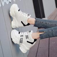 老爹鞋女户外女士时尚百搭运动ins潮厚底内增高小白鞋