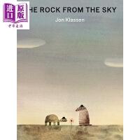 【中商原版】凯迪克得主Jon Klassen:The Rock from the Sky 来自天上的石头 英文原版名家名