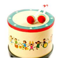 宝宝韩国原单地鼓儿童玩具打击鼓节奏音乐乐器 奥尔夫乐器早教