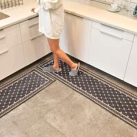 简欧厨房垫子防水防油长条家用地垫卫生间防滑垫吸水脚垫门口地毯SN9196