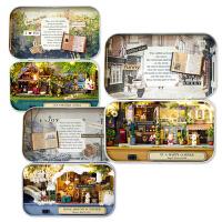 模型玩具女生生日礼物diy小屋盒子剧场手工制作小房子拼装