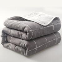 日式纯棉六层纱布毛巾被全棉毛毯小被子午睡夏天空调毯儿童毛巾毯