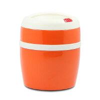 [当当自营]Regal丽格 炫彩系列双层不锈钢真空保温饭盒1.2L(橙色)