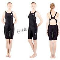 儿童泳衣女孩连体专业训练比赛儿童游泳衣女童泳衣中大童速干运动