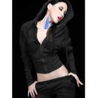 女款秋冬长裤长袖时尚服装夜场性感套装 时尚演出服夜店酒吧女歌手舞台装