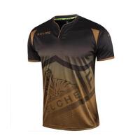 KELME卡尔美 K15Z236 球员版足球服 男子西甲联赛比赛训练球衣 速干透气短袖T恤