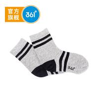 【1件6折到手价:9.6】361度儿童袜子18春季新款男女童长袜青少运动袜N11821