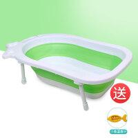 抖音款宝宝洗澡盆新生婴儿可折叠桶坐躺通用小孩大号儿童沐浴盆