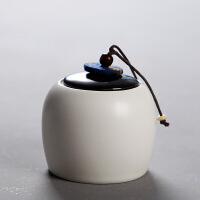 密封茶叶罐陶瓷茶盒茶仓旅行储物罐普洱罐存茶罐特价茶具