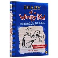 小屁孩日记2 罗德里克法则 英文原版小说 Diary of a Wimpy Kid Rodrick Rules 儿童幽默