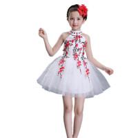儿童演出服合唱服女童蓬蓬裙纱裙幼儿园舞蹈服装表演服