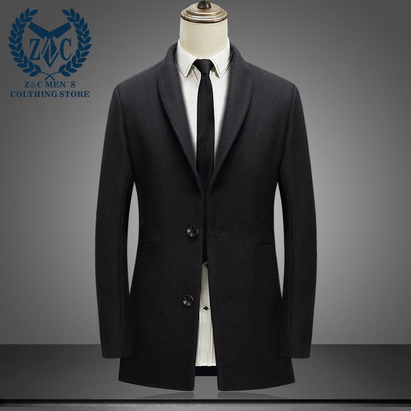 冬季羊毛呢子大衣男中长款韩版修身加厚妮子风衣立领商务毛呢外套 一般在付款后3-90天左右发货,具体发货时间请以与客服协商的时间为准