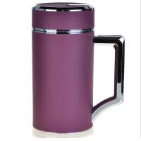富光杯FGL-3403 双层茶杯不锈钢保温杯真空正品泡茶450ml