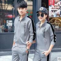 运动服套装户外新品新款韩版潮流青少年衣服学生远动情侣休闲装