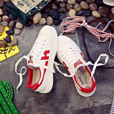环球 百搭韩版学生休闲鞋原宿小白鞋帆布鞋