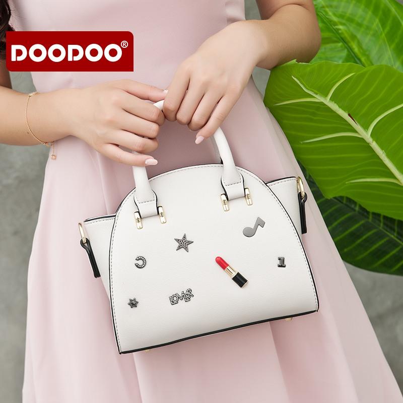 【支持礼品卡】doodoo包包2018新款潮翅膀包韩版个性可爱百搭手提包斜挎包包女包