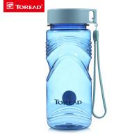 探路者春夏男女通用户外塑料透明650ml水壶水杯ZEGF80207