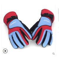保暖手套 男女冬防防寒电动骑车 滑雪手套风防水棉加厚防滑