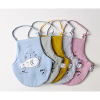 婴儿肚兜贴布复古色夹棉宝宝护肚围围裙男女婴儿秋冬款