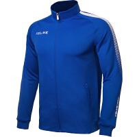 KELME卡尔美 K077 男士针织训练外套 比赛运动出场服 户外休闲运动夹克