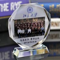 水晶纪念品 定制同学聚会纪念品 实用相框 定做毕业礼品创意摆件
