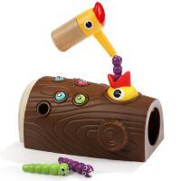 特宝儿啄木鸟儿童益智玩具捉虫喂小鸟鸡抓吃虫子1-2岁男女孩宝宝