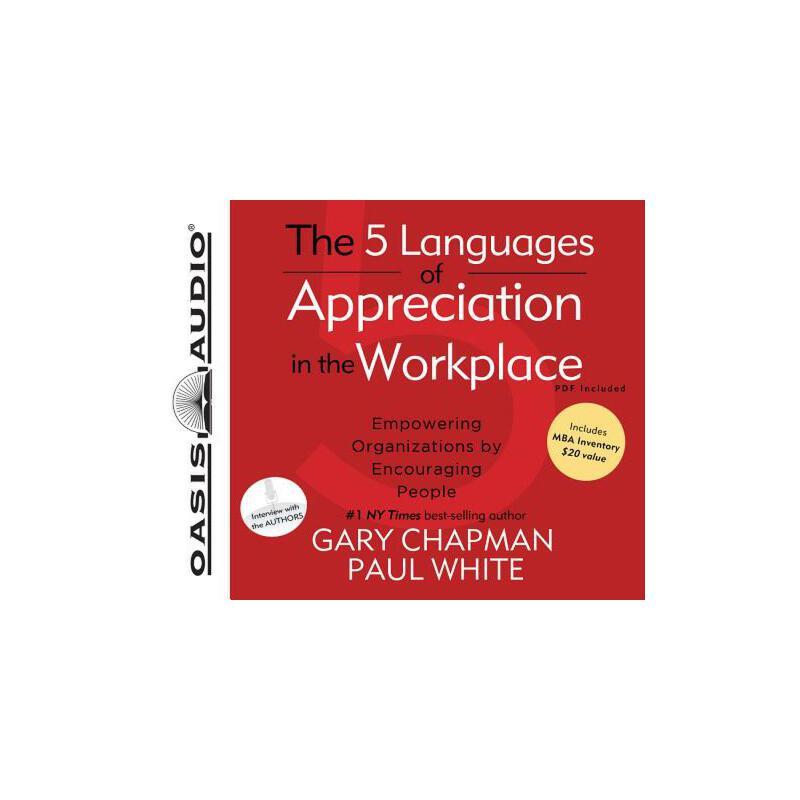 【预订】The 5 Languages of Appreciation in the Workplace (Library Edition): Empowering Organizations by Encouraging People Compact Disc只是光盘 预订商品,需要1-3个月发货,非质量问题不接受退换货。