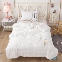 长绒棉婴儿被子纯棉秋冬小棉被新生儿童幼儿园棉花被四季通用