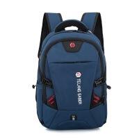 新款定制笔记本双肩包军刀双肩电脑包旅行背包商务背包书包
