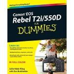 【预订】Canon EOS Rebel T2i / 550D For Dummies