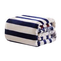 毛毯冬季加厚珊瑚绒毯子保暖法兰绒毯床单学生宿舍双人单人空调毯・ 银色 一心一意(包边)