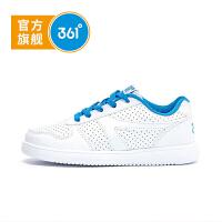 【新春3折价:68.7】361° 361度童鞋男童鞋中大女童小白鞋儿童滑板鞋儿童运动鞋K79130021