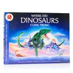 恐龙从哪里来Where Did Dinosaurs Come From 英文原版 恐龙科普百科 自然科学入门启蒙 Di