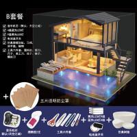 别颖 diy小屋时光公寓手工制作创意房子拼装模型玩具生日礼物女