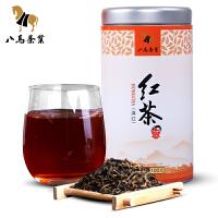 八马茶业 红茶滇红云南临沧原产滇红茶叶罐装100克