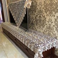 床头柜餐桌布艺田园蕾丝花中欧式茶几电视机柜梳妆台盖巾桌布垫罩