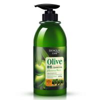 泊泉雅橄榄洗发水护发洗护滋养头发柔顺洗发水400mL