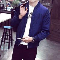 2018防晒男士春夏季夹克韩版青少年修身立领外套时尚潮男装