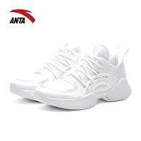 安踏女鞋跑鞋 2019春季新款厚底增高户外女士运动休闲鞋12817757