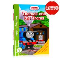托马斯和朋友们Thomas and Friends Thomas and the Trams英文原版分级阅读入门级Re