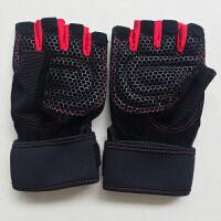运动健身手套 户外登山耐磨防滑半指手套 男女士器械训练护腕护具