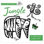 纸板书:丛林 英文儿童互动趣味读物