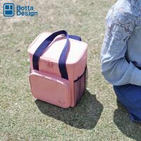 大容量保温冰包加厚牛津布饭盒袋带饭包便当包户外防水手提野餐包