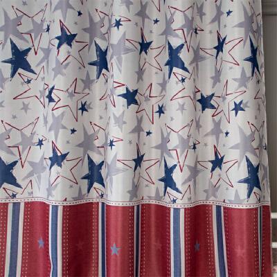 男生宿舍女生寝室床幔上铺上下铺透气遮光布【星际】床帘 +防尘顶1片 1.0m(3.3英尺)床
